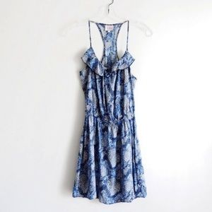 Parker Blue Snake Cami Dress